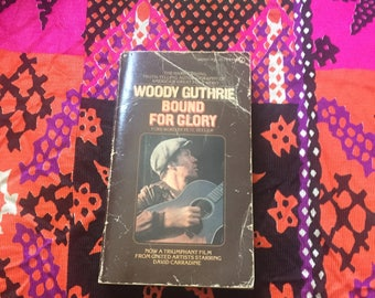 Woody Guthrie Bound for Glory Autobiography 1970 Edition