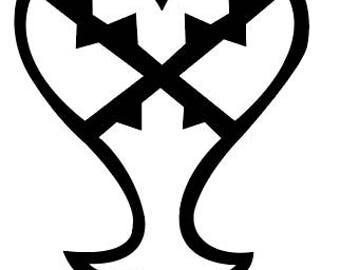 Heartless Logo Vinyl Sticker