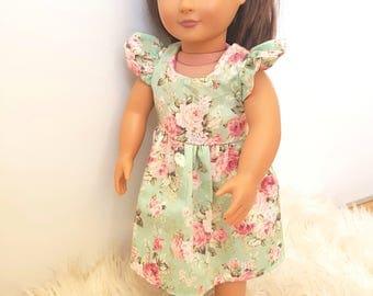 Doll dress 18 inch fir American girl, our generation , journey girl dolls