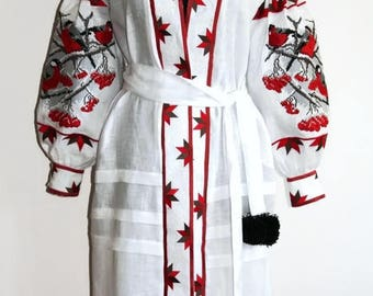 Vyshyvanka Custom Kids Dress Ethnic Ukrainian dresses Embroidered Kaftan Abaya Boho Fashion Vishivanka Customized Clothing Modern Style