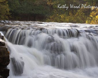 Waterfall by Kathy Wood