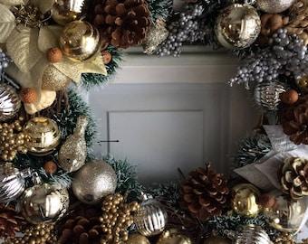 Winter Festive Wreath