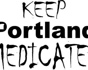 Portland Decals Etsy - Custom vinyl decals portland oregon
