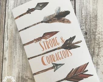 Strong & Courageous Devotional and Scripture Cards ONLY