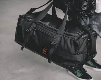 Travel Bag For Men Carry On Duffle Black