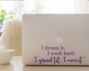 Laptop Decal/ Wall Decal/Lyric Vinyl Decal/ Rap Song Lyric/ Rap Quote/ Hip Hop Decal/ Song Lyric Decal/ R&B Song/ Yonce/ Beyonce/ Formation