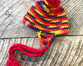 Crochet baby/toddler hat