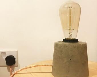 DIY Concrete Lamp Kit