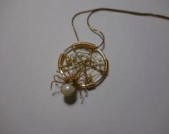 Real Pearl spinner Nezt Pendant