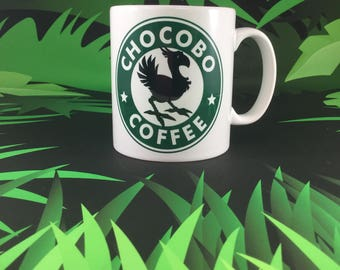 Chocobo Coffee - Final Fantasy inspired mug set
