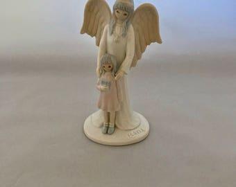 Vintage Flavia Angel. Flavia Girl's Guardian Angel 1986. 1986 Girl's Guardian Angel by Flavia. Flavia Angel. Guardian Angel for Girl.