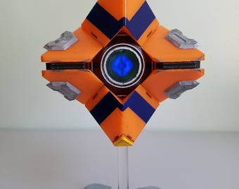 Destiny Ghost like Vanguard Shell - Full Size - Includes Floating Stand