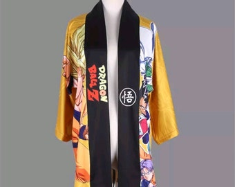 Dragon Ball Z Cosplay Kimono / Bathrobe
