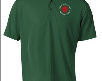 28th Infantry Division -Embroidered Moisture Wick Polo Shirt -7422