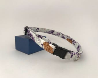 Small Pet Collar, French Violet