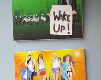 Wake Up! & Glastonbury Girls