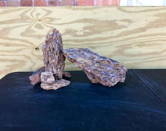 Ohko Dragon Stone Aquascape Rock ADA Aquarium Fish Plant Shrimp Driftwood