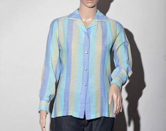 """""""Sean"""" T40 60s striped shirt"""