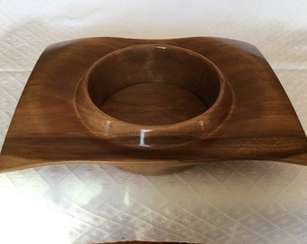 Winged bowl made from Sweet Gum
