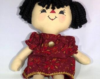 handmade cloth rag doll
