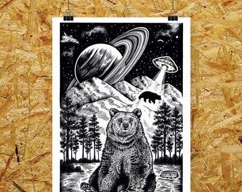 Bear Abduction