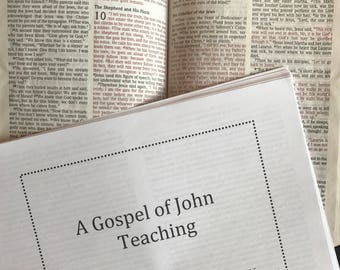 A Gospel of John Teaching
