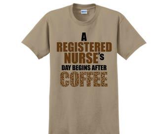 NURSE T-SHIRT, Custom T-Shirt, Nurse Gifts, Personalized T-Shirt, Custom Tees, Nurse Appreciation, Registered Nurse, Nurse Assistant