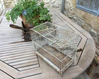 Birdcage shabby vintage bird cage