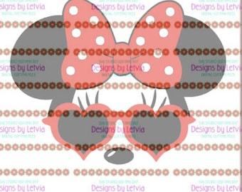 Minnie Heart sunglasses