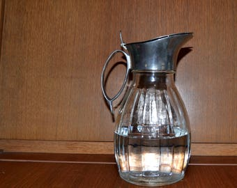 Vintage water can pitcher