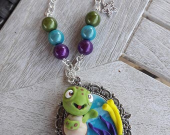 FIMO Flicker Necklace
