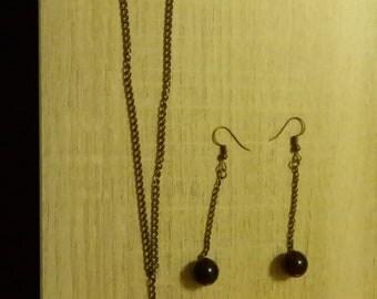 Black Pearl chain set
