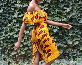 Ankara dress was