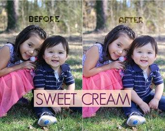 Sweet Cream Lightroom Preset