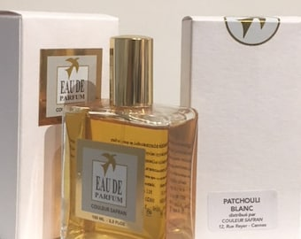 White PATCHOULI - Eau de Parfum - 100 ml - Made in Grasse - France - made by a master perfumer