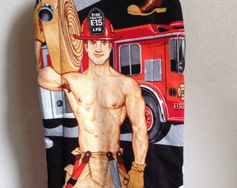 Big Mitt: Fireman with Hose