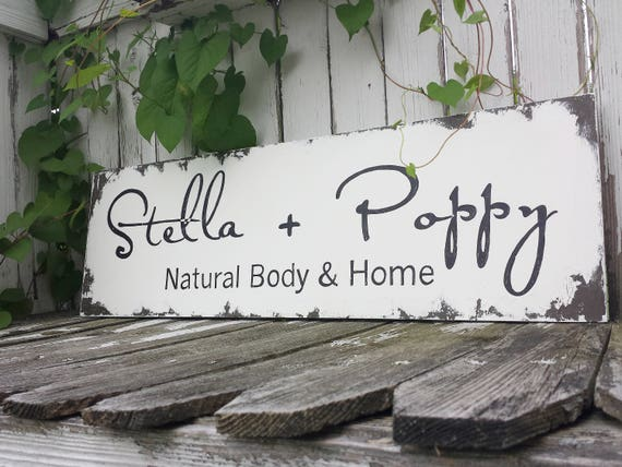 home office signage hand painted business sign shabby chic business sign