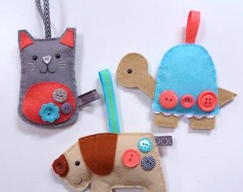 Pets - Large Kit - Felt sewing kit