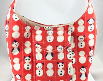 Snowman Cats And Pals Bag By For Mew Cat Lover Purse, Gift For Cat Lover