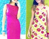 Chic Sleeveless Dress Causal wear Summer party frock sewing pattern Kwik Sew 3985 Sz XS to XL UNCUT