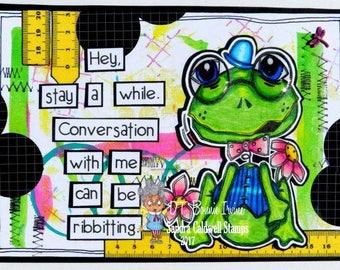 1656 Frog Eyes Digi Stamp
