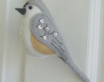 Timothy the Tufted Titmouse