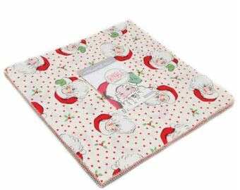 SALE It's Here! 10 inch squares Layer Cake - SWELL Christmas Moda Fabric by Urban Chiks 31120LC