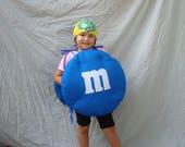 Babykostüm M und M-Kostüm-Halloween-Kostüm M & M Kleinkind Kostüm Säugling Kostüm Candy Kostüm Essen Kostüm Boy Kostüm Kleinkind Jungen Kostüm
