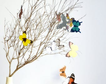 Butterfly Garland Kit | Butterfly Kit | Butterfly Festoon | Nursery Decor | Baby Decoration Baptism | New Baby Announcement