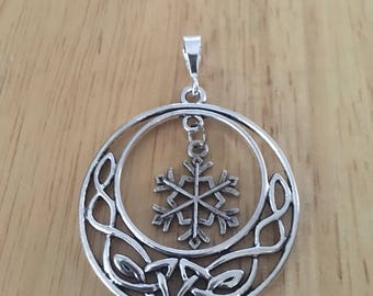 Silver Snowflake Ornaments Set of 6