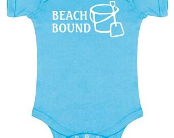 Beach Bound Baby Bodysuit
