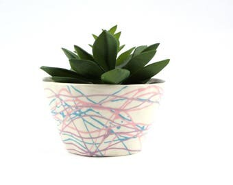 Pastel Silly String Planter