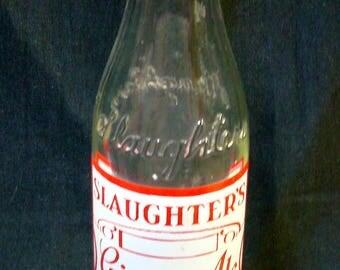 Bottle SLAUGHTER'S GINGER ALE