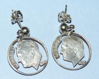 1940 & 1950 DIME Earrings